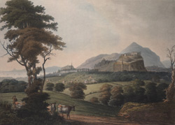 View of the City of Edinburgh